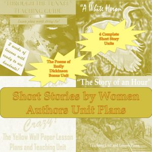 Famous Short Stories by Women Lesson Plans