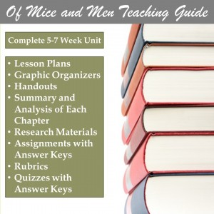 Of Mice and Men Lesson Plans
