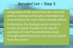 Teaching Edgar Allan Poe Poems: A 4-Step Lesson Plan for Annabel Lee