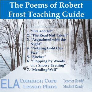Lesson Plans of Robert Frost