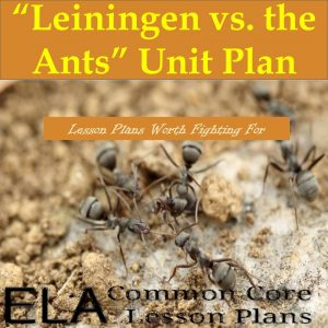 Leiningen vs. the Ants lesson plans